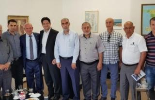 İsrail vatandaşı Filistinli kanaat önderlerinden...