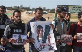 İsrail 'yasa' bahanesiyle Filistinli gazetecileri...