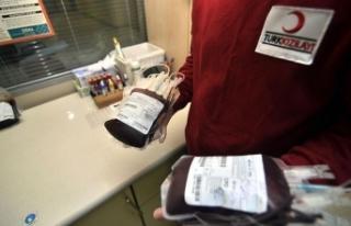 Kızılay'a kan bağışı 15 Temmuz'da...