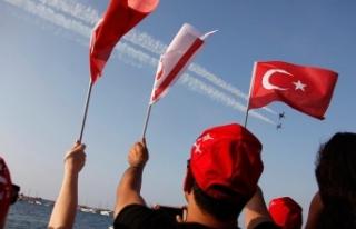 KKTC'de 'Barış ve Özgürlük Bayramı'...