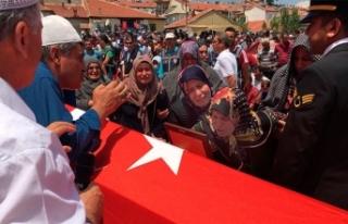 Konyalı şehit Uzman Çavuş'u, 5 bin kişi...
