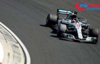 Macaristan'da pole pozisyonu Hamilton'ın