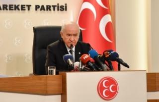 MHP Lideri Bahçeli: Dolarla doğmadık, olmayınca...