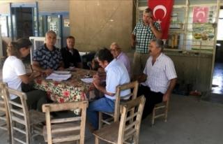 Osmaniye'deki tarım arazilerinde hasar tespit...