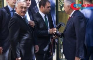 TBMM Başkanı Yıldırım Kılıçdaroğlu'nu kabul...