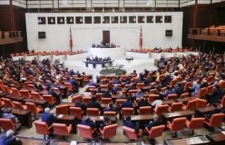 TBMM Genel Kurulunda AK Parti'nin grup önerisi...