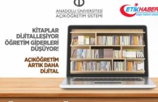 Açıköğretim Fakültesinde 'dijital kitap'...