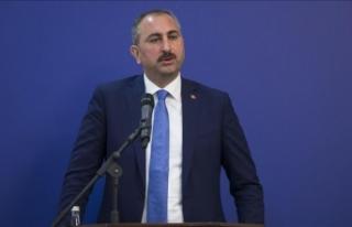 Adalet Bakanı Gül: Yargıda hedef süre 1 Ocak'ta...