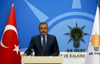 AK Parti Sözcüsü Ünal: Türkiye, ABD'nin...