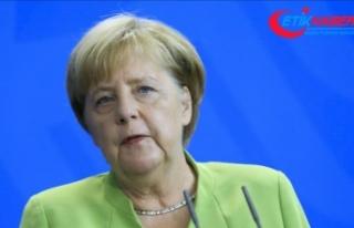 Angela Merkel: Türkiye ekonomisinin güçlü olması...