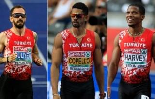 Avrupa kadrosunda 7 Türk atlet yer aldı