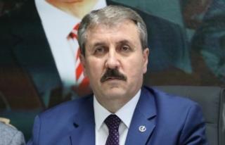 BBP Genel Başkanı Destici: İdamla ilgili teklifimizi...