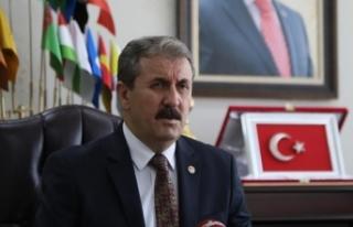BBP Genel Başkanı Destici: Kurşunlar aslında Türkiye'nin...