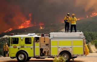 California tarihinin en büyük yangınıyla mücadele...