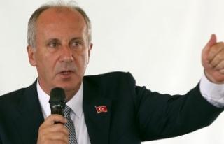 CHP'li İnce'den 'Kimse partiden ayrılmasın'...