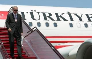 Cumhurbaşkanı Erdoğan Almanya'ya resmi ziyarette...