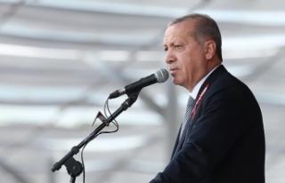 Cumhurbaşkanı Erdoğan: Biz bu orduyla 7 düveli...