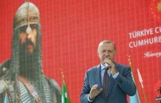 Cumhurbaşkanı Erdoğan: Malazgirt'te nasıl...