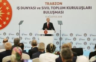 Cumhurbaşkanı Erdoğan: Türkiye'yi tehdit...