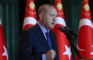 Cumhurbaşkanı Erdoğan: Zaferlerini masa başında...