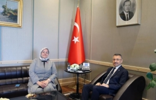 Cumhurbaşkanı Yardımcısı Oktay, Bakan Selçuk'u...