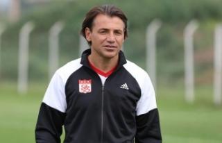 Demir Grup Sivasspor Teknik Direktörü Tuna: Ligde...