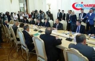 Dışişleri Bakanı Çavuşoğlu: Türkiye-Rusya...