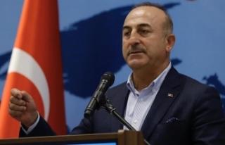 Dışişleri Bakanı Çavuşoğlu: Münbiç'te...