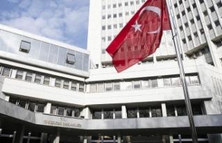 Dışişlerinden Yunan hükümetine tepki