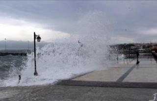Tropik fırtına İstanbul'u etkileyecek mi?