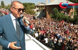 Erdoğan: Çok daha farklı bir şekilde 2071'e...