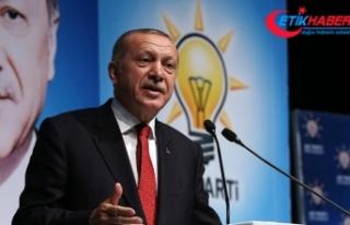 Erdoğan: Yaptırım tehdidiyle ülkeleri haraca bağlayan...
