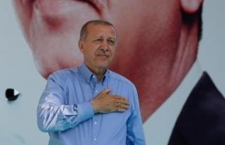 Erdoğan 'teşekkür' ziyaretlerine Bayburt'tan...