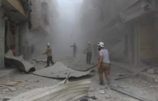 Esed rejimi temmuzda 528 kez varil bombası kullandı