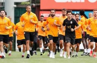 Galatasaray'da TFF Süper Kupa maçı hazırlıklarına...