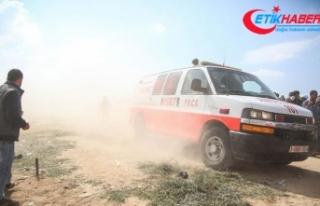 Gazze'de sağlık görevlisi, İsrail askerlerince...