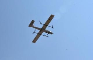 İnsansız hava aracı 'Çağatay' trafik...