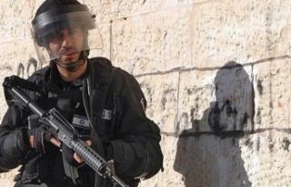 İsrail askerlerinden Batı Şeria'daki okula...