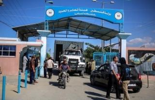 İsrail Gazze'yle arasındaki Beyt Hanun sınır...