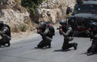 İsrail güçlerinden Batı Şeria'daki gösterilere...