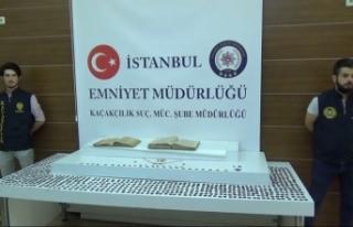 İstanbul'da 6 milyon TL'lik tarihi eser operasyonu