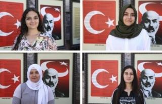 Kanada'dan gelen Türk gençleri kültürleriyle...