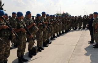Kars'tan 284 Mehmetçik Kilis'e uğurlandı