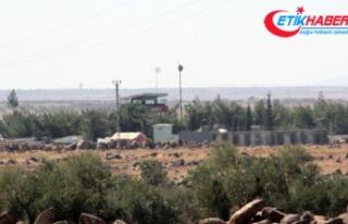 Kilis'in Suriye sınırı özel güvenlik bölgesi...