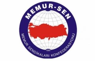 Memur-Sen: Tek yol devlet ve millet birlikteliğini...