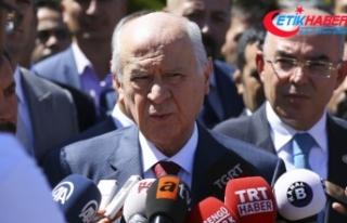 MHP Lideri Bahçeli: Trump, ölçüyü kaçırmış,...