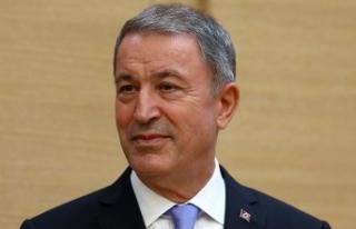 Milli Savunma Bakanı Akar: Her türlü tehdit ve...