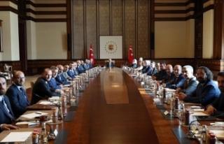 MÜSİAD heyetinden Cumhurbaşkanı Erdoğan'a...