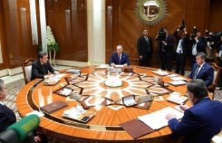 Orta Asya liderleri Aral Gölü için toplandı