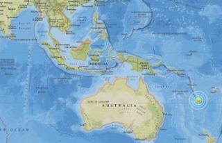 Pasifik adası Yeni Kaledonya'da 7.1 büyüklüğünde...